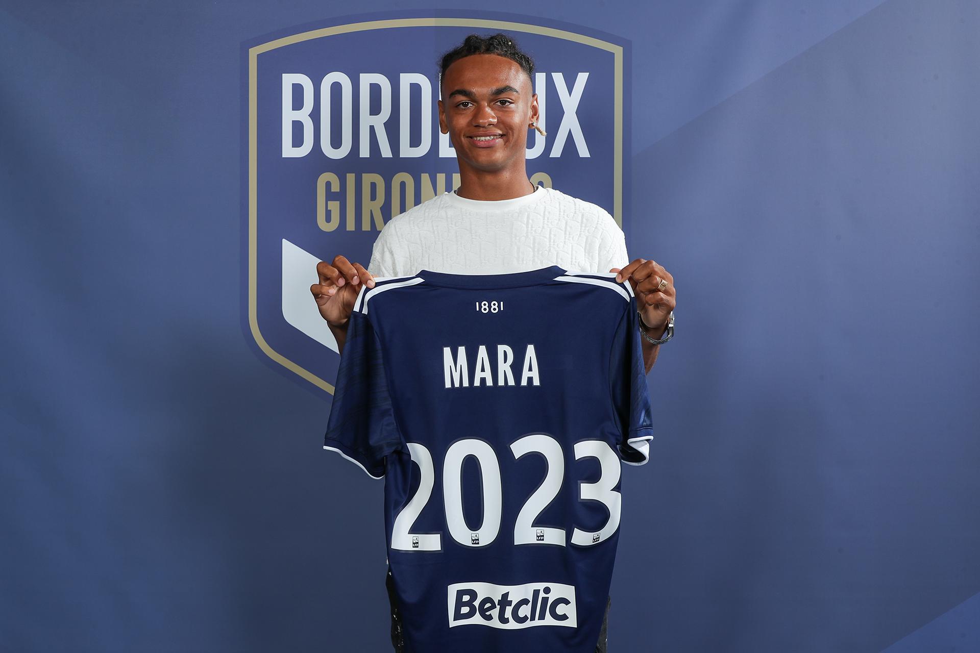 Bordeaux : Sékou Mara (18 ans), intègre l'équipe professionnelle -  Guineefoot.info